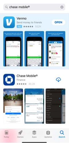 Chase Mobile